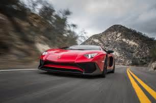 Lamborghini Aventador In 2015 Lamborghini Aventador Sv Test Review