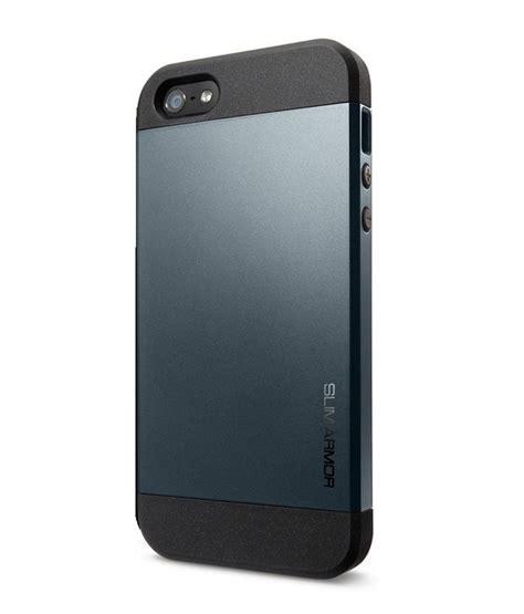 spigen sgp slim armor for apple iphone 4 4s metal plain back covers at low