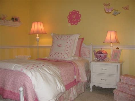 pink and yellow girls bedroom beautiful yellow bedrooms