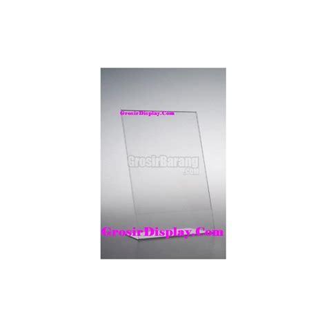 Display Menu Akrilik Brosur Akrilik tempat brosur akrilik a4 tebal 1 sisi display kertas