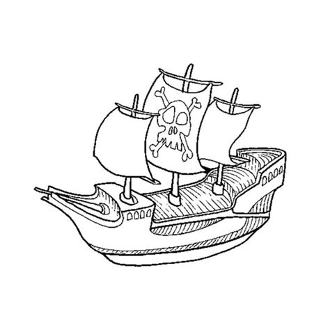 dessin facile bateau pirate coloriage bateau pirate facile dessin gratuit 224 imprimer