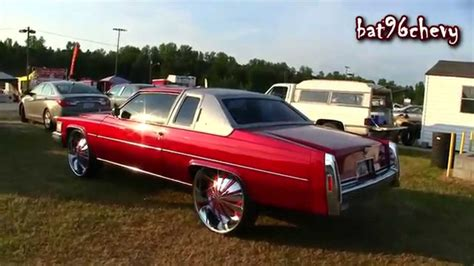 79 Cadillac Coupe by 1979 Cadillac Coupe On 28 Wheels 1080p Hd