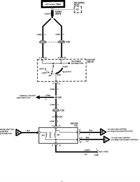 1996 chevy coil wiring diagram 1996 free engine image