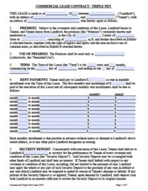 printable lease agreement nevada free printable rental lease agreement templates pdf word