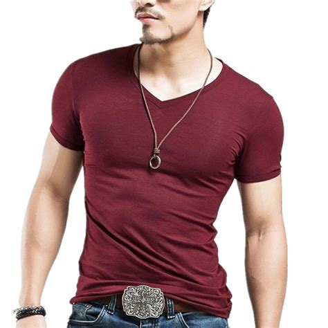 Sale O Neck Slim Shirt fashion s casual tops t shirt sleeve v neck slim