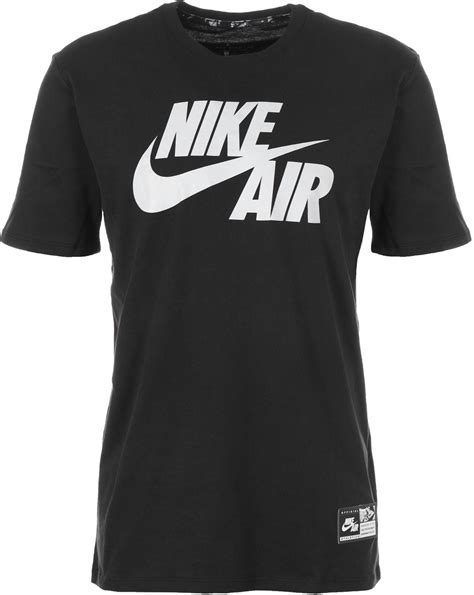 T Shirt Nike Air Black nike air 5 t shirt black white