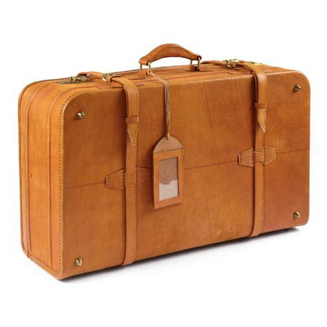 ashwood leather large vintage suitcase pediwear luggage