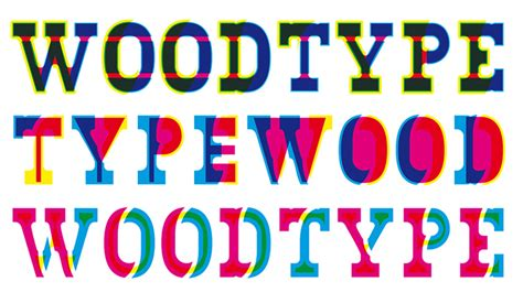 design digital font how one designer turned his digital font into wood typeeye