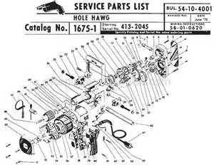 milwaukee 1675 1 parts list and diagram ser 413 2045 ereplacementparts