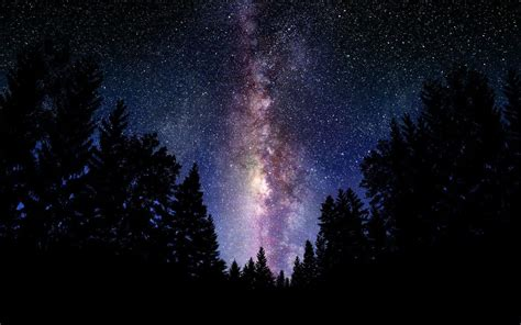 starry night starry night sky wallpapers wallpaper cave