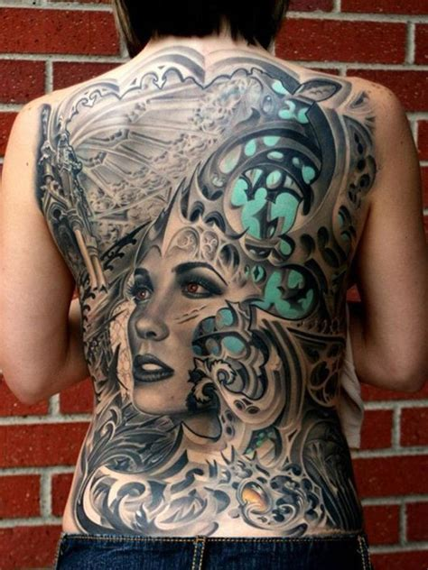 Full Back Tattoo Designs And Themes Theme Tattoos