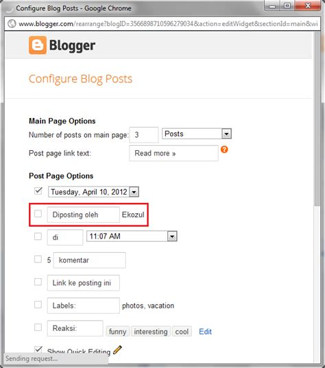 blogger penulis bagaimana cara sembunyikan penulis di blogger atau