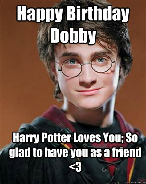 Harry Potter Happy Birthday Meme - site unavailable