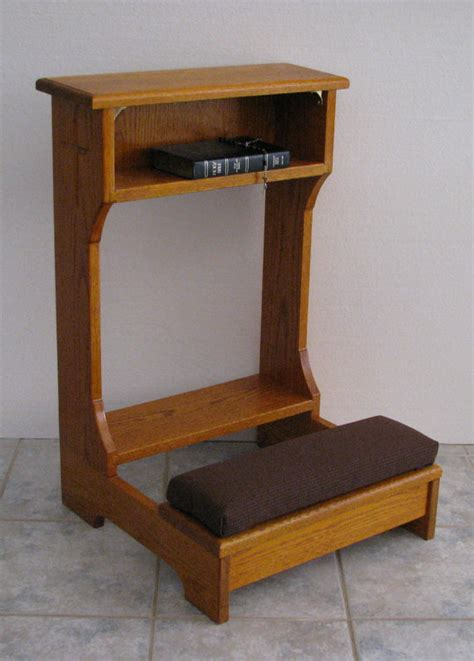 items similar to prie dieu or prayer desk style kneeler on