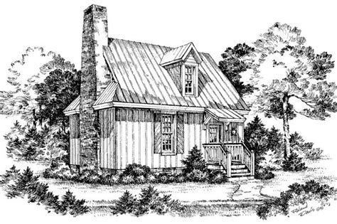 Cottages 1000 Square by Cypress View Plan 735 Cabins Cottages 1 000