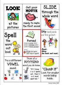 reading strategies teaching toolbox charts