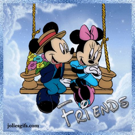 Balancoire Mickey by Mickey Et Minnie Sur Une Balan 231 Oire Quot Friends Quot