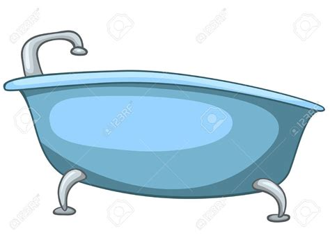cartoon bathtub wash tub clipart 44