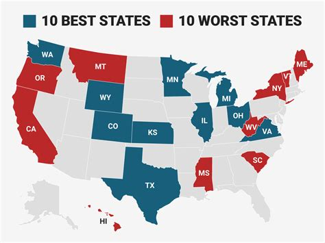 the best and worst states to make a living in 2017 parl 233