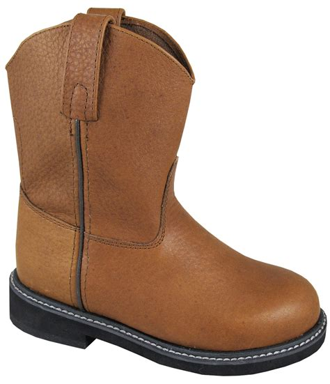 smoky mountain boots toddler boys jackson brown leather