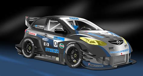 mazda 2r race car by stylepixelstudios on deviantart