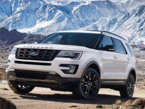 Ford Explorer 2017 2017 Ford Explorer Xlt Sport Appearance Package Unveiled