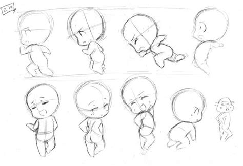 design guidelines sketch chibi character design references キャラクターデザイン find