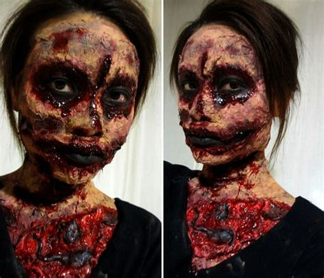 zombie fx tutorial 178 best images about theatrical makeup on pinterest