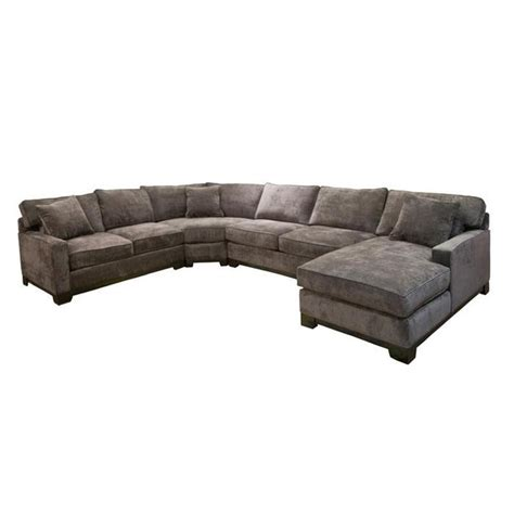 Grey Microfiber Sectional Grey Sectional For The Home