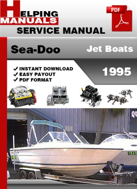 sea doo jet boat manual download sea doo jet boats 1995 service repair manual download pligg