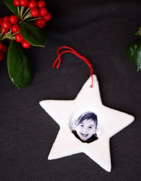 diy picture frame ornaments picture ornaments salt dough and picture frame ornaments
