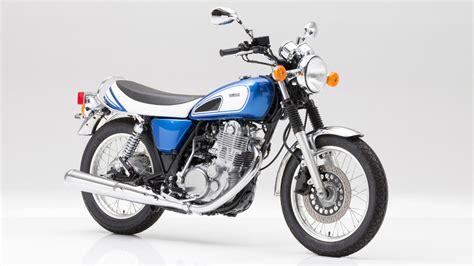 Triumph Motorrad 250ccm by Yamaha Sr Und Xjr Als Quot 50th Anniversary Quot Edition Magazin