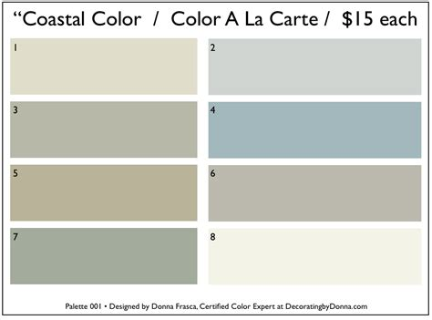 Coastal Colors That You Don?t See At First   Decorating by Donna ? Color Expert