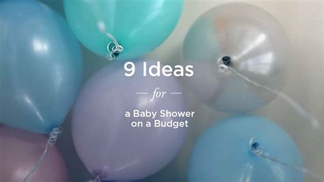 cheap baby cheap baby shower ideas on a budget