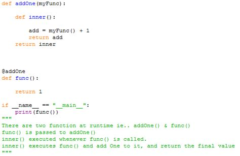inner function python selenium using python my python notes decorators