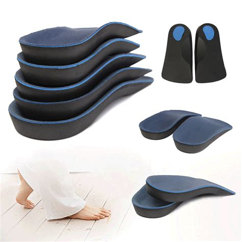 shoe supports for flat 3 4 orthotic support insole shoe cushion pad mat arch flat