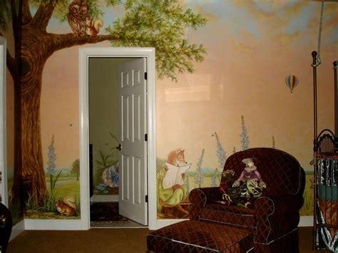 peter rabbit mural inspired  beatrix potter eclectic