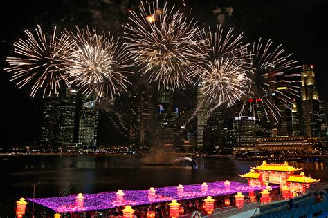 new year fireworks singapore new year 2014 colourful pictures as year of the