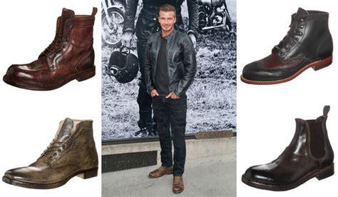 david beckham work boots brown hairs