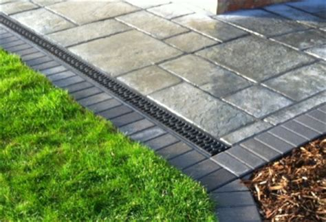 patio drainage solutions drainage systems soak away drains patio drainage services gwynedd wales