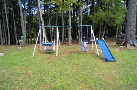 rent a swing set ontario cottage rentals northern comfort cottage