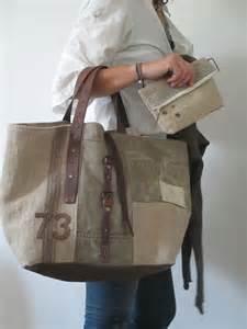 25 best ideas about sac en toile on cuir de