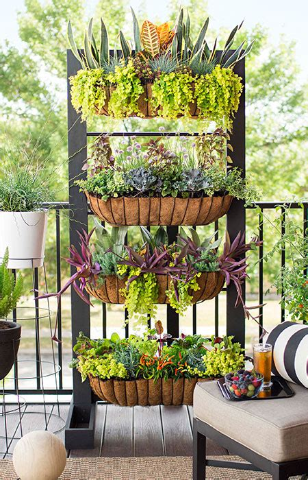 ideas for small balcony gardens small space balcony garden