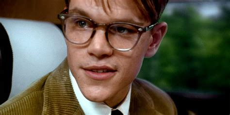 talented mr ripley matt damon oliver peoples glasses tom ripley