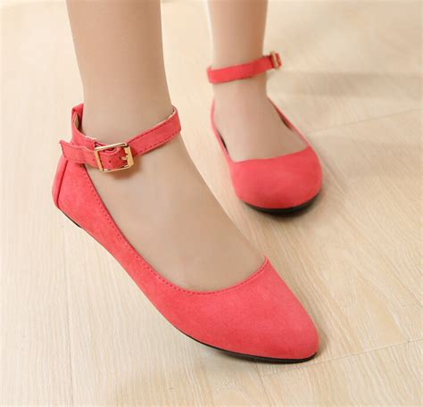 fashion flats shoes 2015 brand buckled fashion flat shoes for