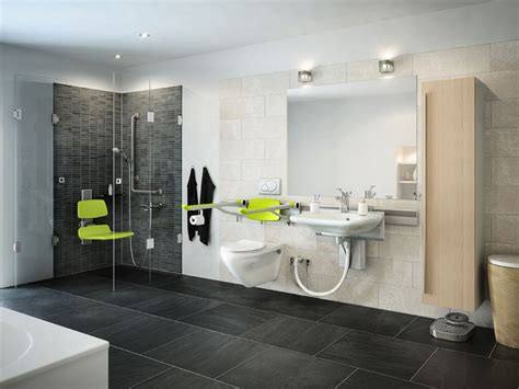bathroom inspiring modern handicap bathroom design