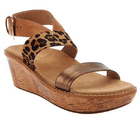 qvc orthaheel shoes vionic w orthaheel cancun leather sandals page 1 qvc