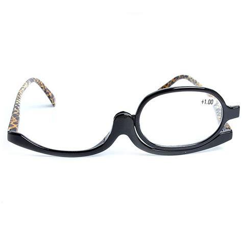 rotating makeup glasses magnifying glasses cosmetic