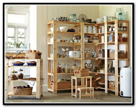 wood shelving systems for pantry home design ideas