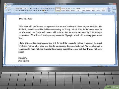 Confirmation Letter Adalah Cara Menulis Surat Konfirmasi Wikihow